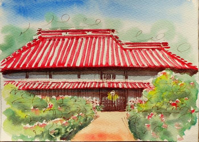 �A「赤い屋根のお宅」(場所はよくわからない).jpg
